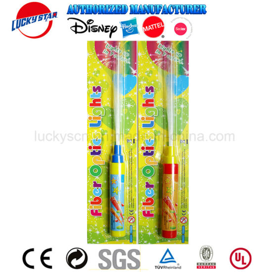 Promotion Gift Cool Fiber Light Plastic Electronic Toy Torch