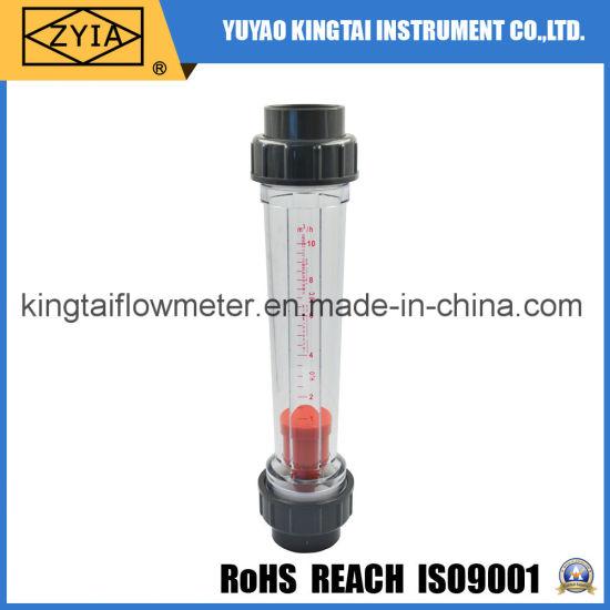 Pipeline Water Rotameter Plastic Flowmeter