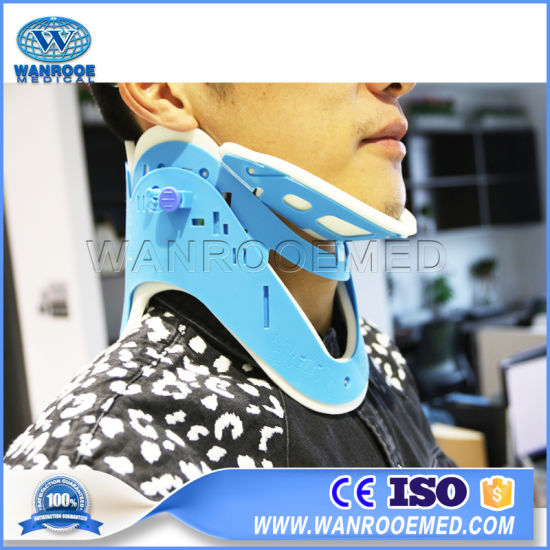 Eb-2b Medical Equipment Adjustable Humanizing Extrication Neck Cervical Collar