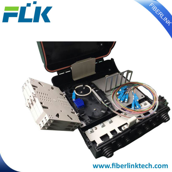 FTTH/Network 24 Cores Indoor/Outdoor PLC Splitter Distribution Box Fiber Optic pictures & photos