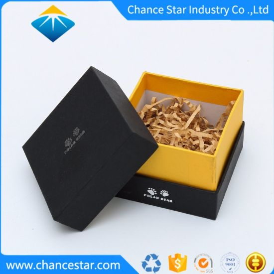 Custom Decorative Cardboard Box with Lid for Health Products