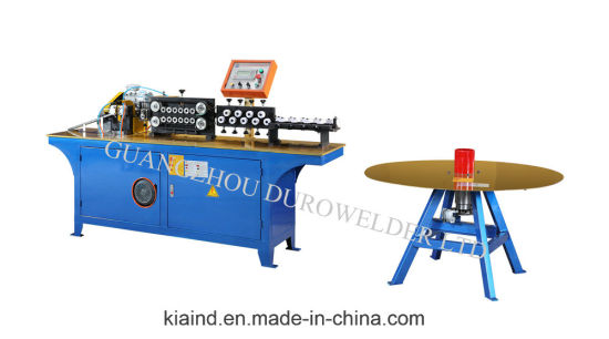 Automatic Tube Straightening and Cutting Machine