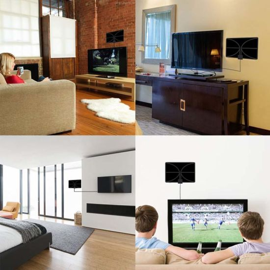 China Amplified Indoor TV Antenna with Active Steering Technology