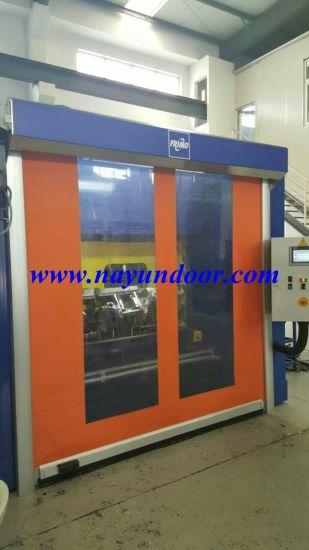 High Speed Rolling Door/Mechanical Protection Rapid Door/High Speed Door & China High Speed Rolling Door/Mechanical Protection Rapid Door/High ...