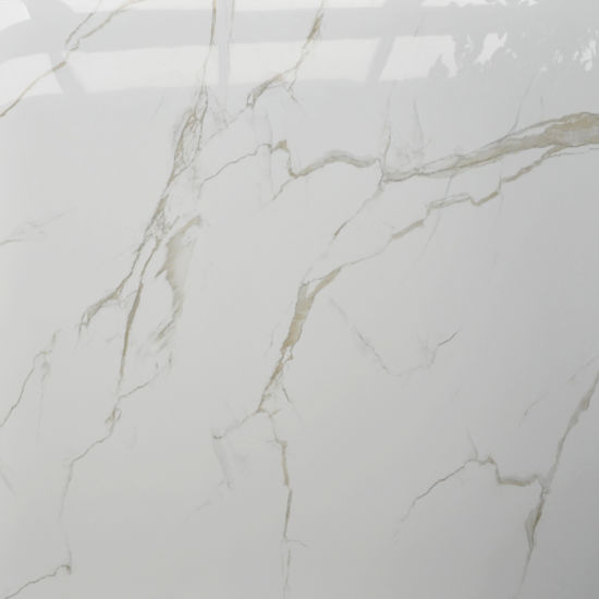 Glossy Polished White Floor Ceramic 60X60 Italy Comfort Room Tiles