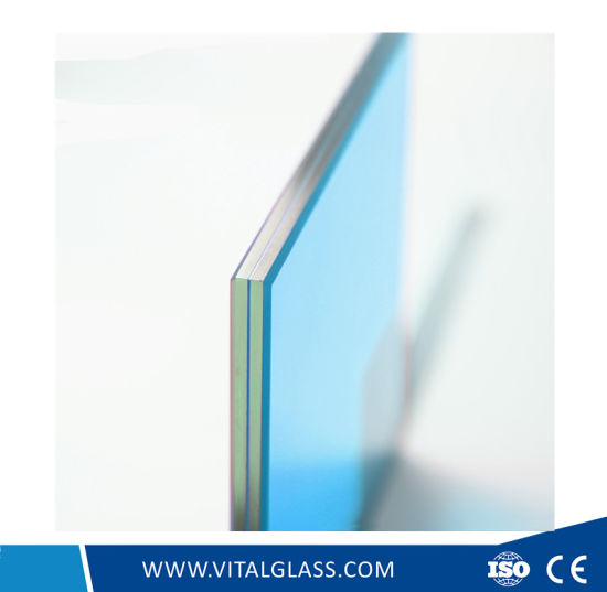 Clear/Blue/Grey/Bronze Laminated Glass for Building Glass with Csi (L-M) pictures & photos