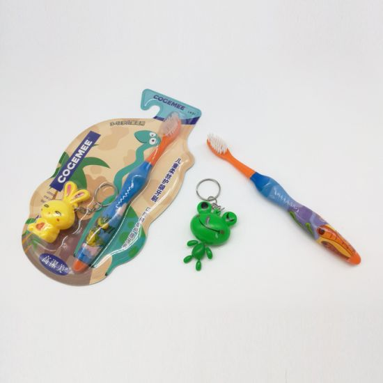 Kid/Child/Children Toothbrush with Slender & Soft Bristles, Gift Included The Pack 182 pictures & photos