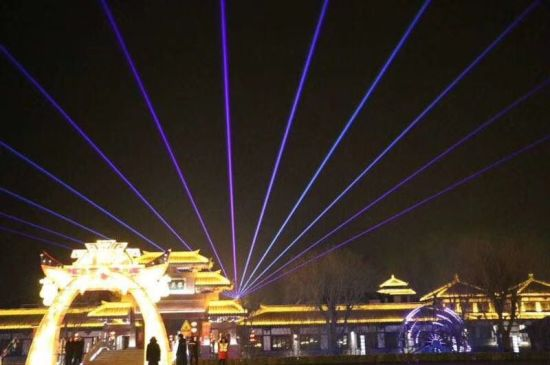 50W Full-Color Laser Light Outdoor Laser Light Laser Stage Lighting