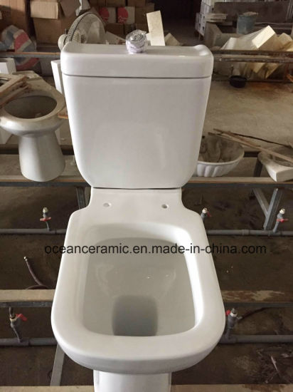Ceramic Washdown Two-Piece Toilet (No. 811) pictures & photos