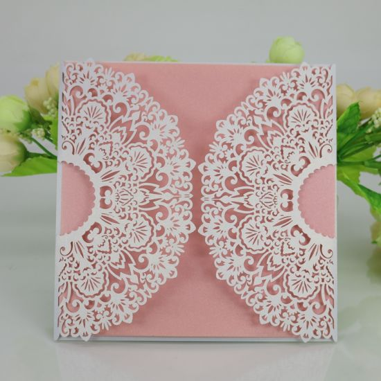 Fancy Invitation Card Printing Paper Greetinng Cards Printing pictures & photos