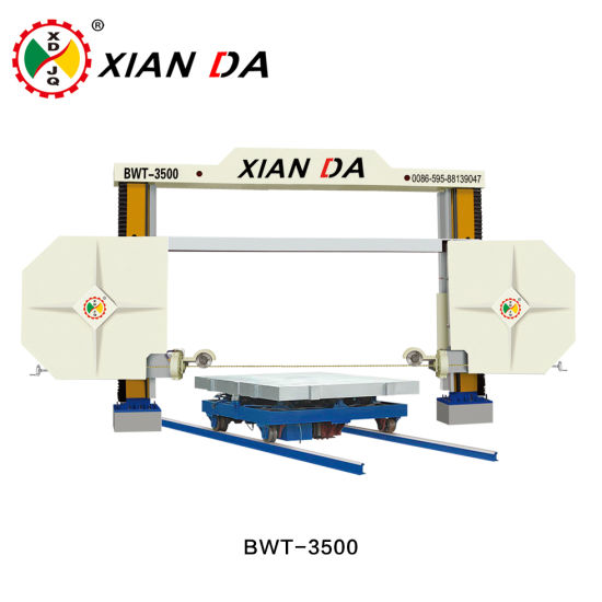 China Diamond Wire Cutting Saw Granite Marble Trimming Squaring ...