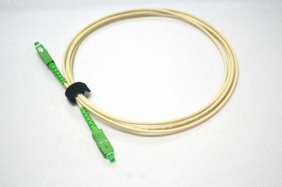 3.0mm 4.5mm Singlemode Sc/APC Fiber Patch Cord Cable Pigtail