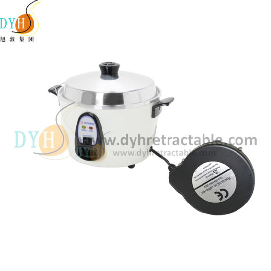 Stainless Steel Spring Loaded Cable Reel Retractable Cord Reel