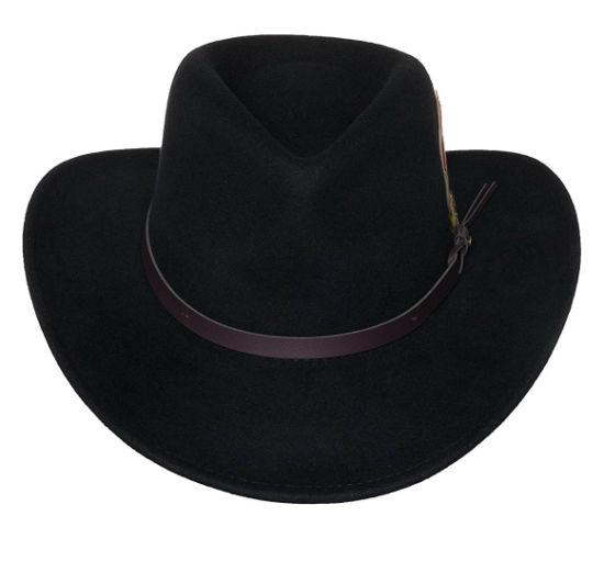 c1c3fc63afa BSCI Audit Faux-Leather Durable Crushable Wool Jb Mauney Cowboy Hat