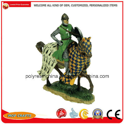 High Quality Medieval Knights Figure Statue Decor