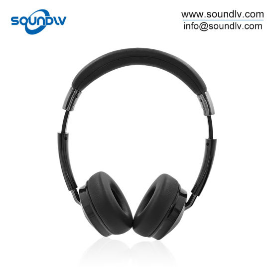 China Portable Stereo Bluetooth Headphone Wireless Headset With Microphone For Laptop China Portable Wireless Headset And Laptop Headphone Price