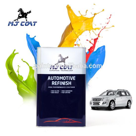 China High Quality Acrylic Raw Material 2k Metallic Car Paint