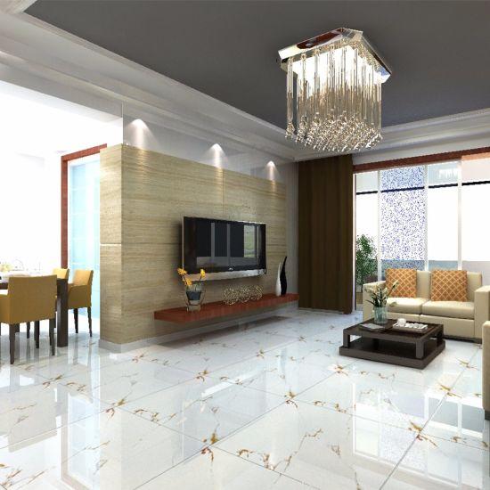 China European Style Apartment Kitchen Floor Big Size Vitrified Tile