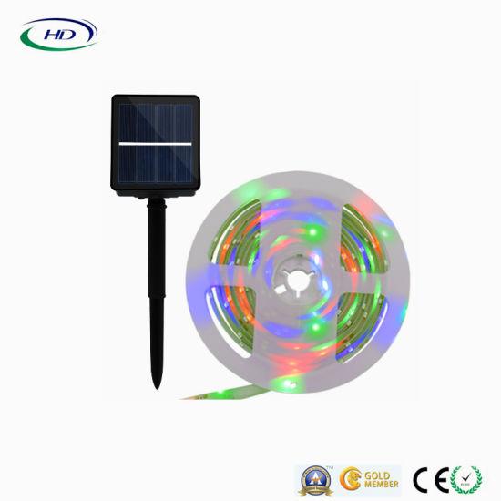 Solar Panel LED Christmas Strip Light