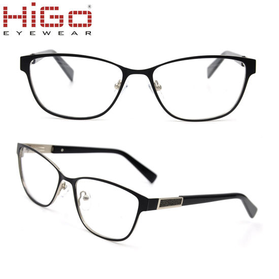 China French Style Stock Eyeglasses Frame Stainless Material ...