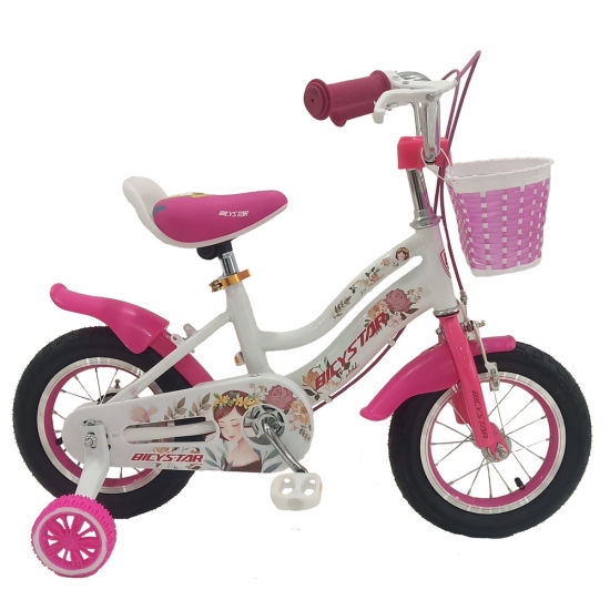 Mini/Little Children/Kids/Child/Princess 12inch OEM Toys Kid's Bike with Rear Box and Basket for Girl and Boy