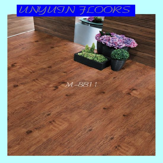 PVC Wood Flooring, Wood PVC Flooring Plank Home PVC Flooring pictures & photos