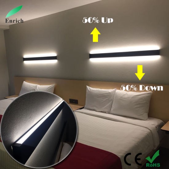 Double Sides Emitting up and Down LED Linear Lighting for Bedroom