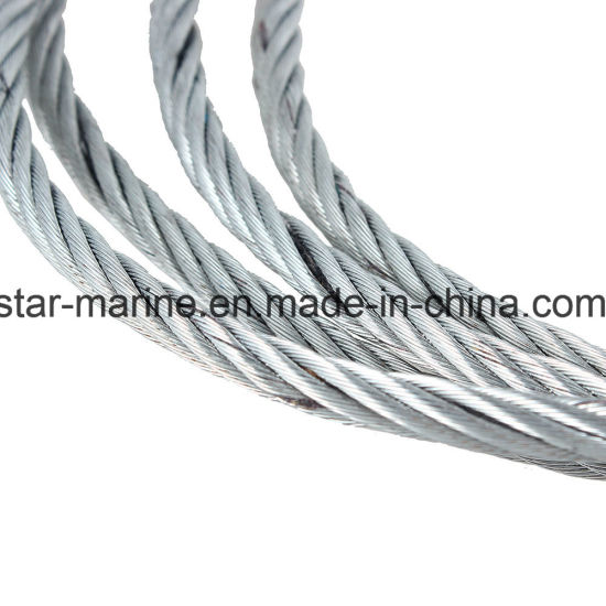 100 Metres of 3mm Galvanised Wire Rope 7x7