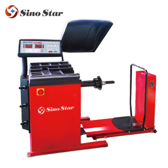 Trucks, Buses, Tractors Wheel Balancing Machine with High Precision and More Dependable Ss-3448 pictures & photos