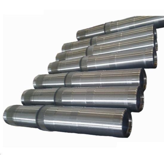 Hot Forging Large Shaft Spline Shaft Main Shaft