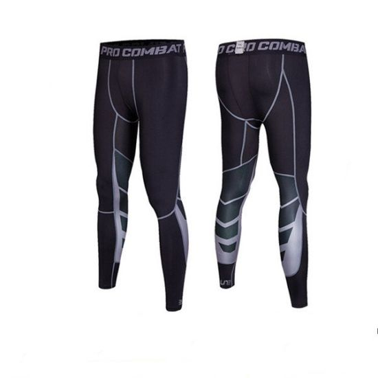 a605159a59 Men Compression Fitness Wear Dry Fit Pant Leggings Sports Tights pictures &  photos
