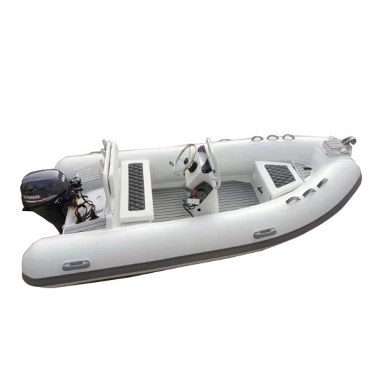 13 FT Hypalon Rib Boat with Engine