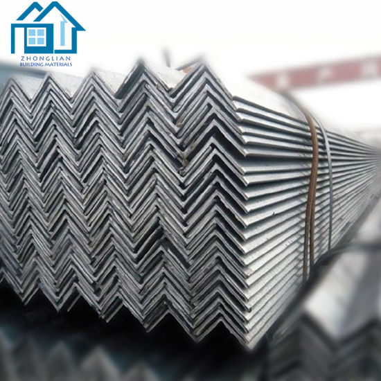 Standard Length Galvanized Steel Slotted Angle Bar