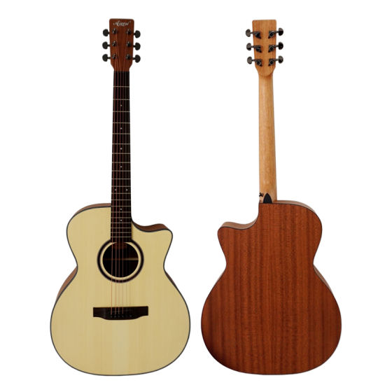 Chinese Custom Acoustic White Guitar Brands Price Cheap China
