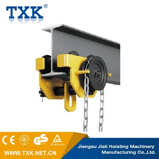 China 1 Ton Capacity Plain Trolley for Electric Chain Hoist
