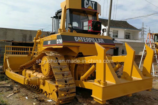 Used Cat D7h Crawler Bulldozer with Ripper /Caterpillar D7g D7r D6d D6h D6  Dozer