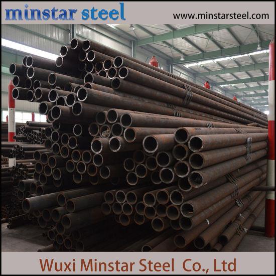China Sch10 Sch20 Sch30 Sch40 Sch60 Sch80 ASTM A106 Seamless Steel