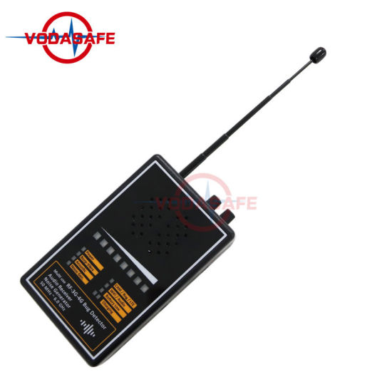 RF Transmitter 1.2g/2.4G/5.8g Wireless Camera Detector with Earphone Silent Detection
