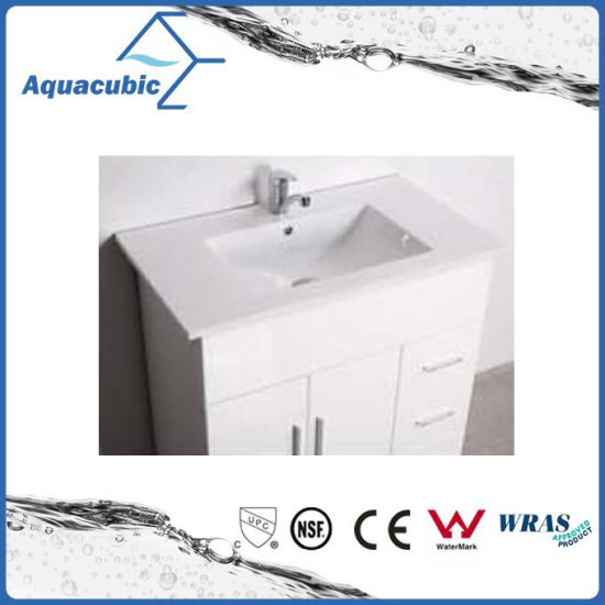 Hot Sell Australia Style White Painted Bathroom Furniture (AC-8090B) pictures & photos