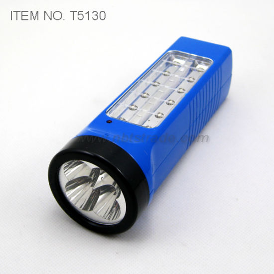 Multi Function Rechargeable LED Torch (T5130) pictures & photos