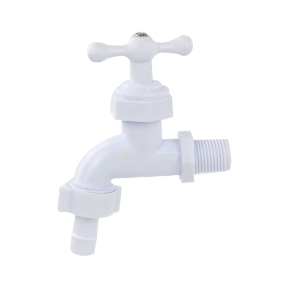 China New Design Plastic PVC Washing Machine Faucet - China Plastic ...