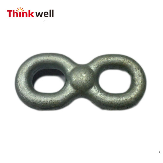 Forged Galvanized Steel Double Eye Connecting Chain Link