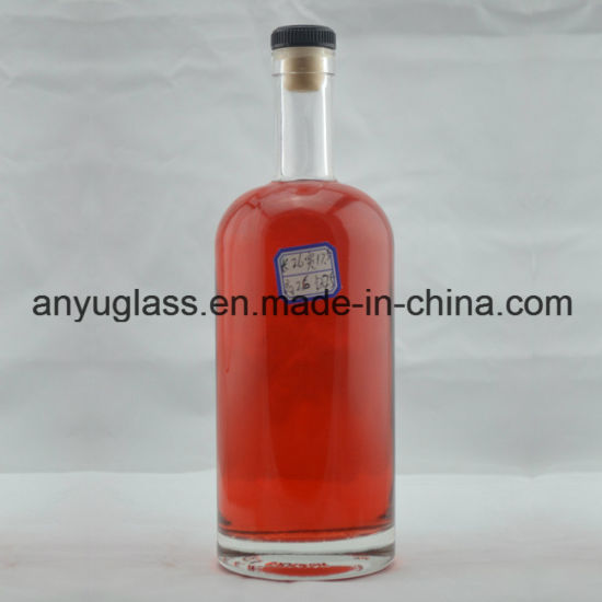 Superior Quality Crystal Vodka, Liquor, Spirit, Wine, Whiskey, Brandy Glass Bottle 750ml pictures & photos