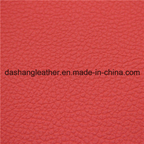 Good Abrasion Resisitance Semi-PU Leather for Sofa pictures & photos