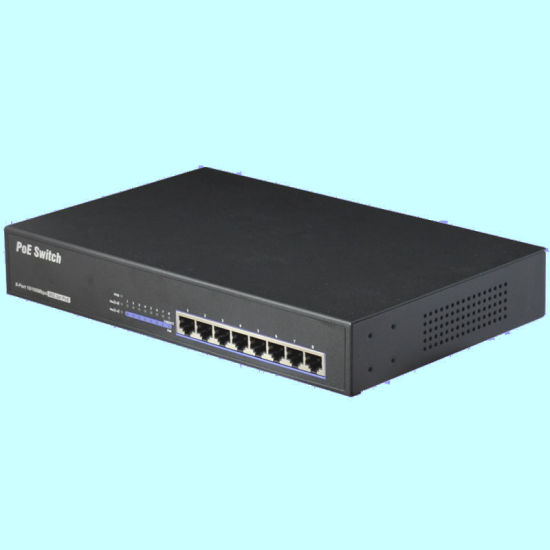 8 Port 10/100m Poe Switch Include 4 Port PSE (TS0804F) pictures & photos