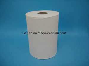 350ft White Hand Roll Paper Towel 105m pictures & photos