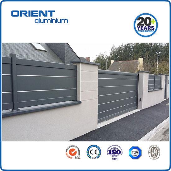China Aluminium Slat Fencing Good Price with Good Quality