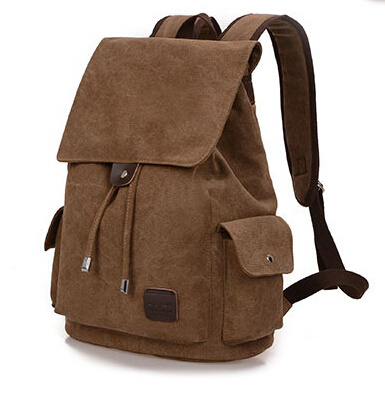 Leisure Canvas Backpack for Outdoor and Campus (BSBK0033) pictures & photos