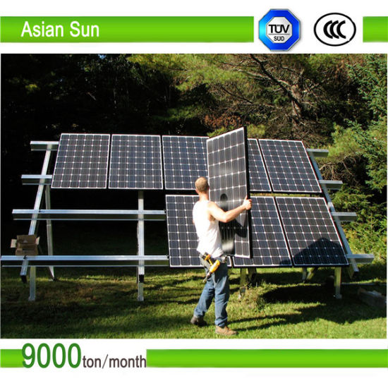 Commercial Solar Ground Mounting System pictures & photos