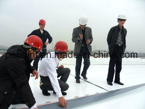 1.5mm White Tpo Waterproof Membrane for Single-Ply Roofing System with ISO Certificate pictures & photos